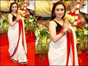 Rani Mukerji Saree Collection Sarees Six Best Saree Looks