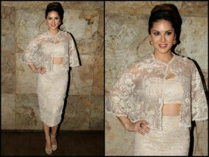 Sunny Leone Is Getting Gorgeous With Every Second Outfit
