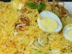 Brown Rice Egg Dum Biryani Recipe