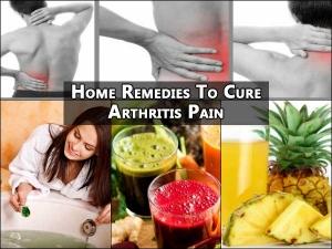 Home Remedies Cure Arthritis Pain