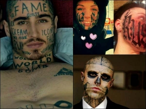 Face Tattoos That Are Must See