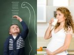A Daily Glass Milk During Pregnancy Makes Your Children Tall