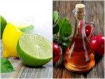 Diy Apple Cider Vinegar Lemon Mask Soft Dandruff Free Hair