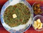 Quick Palak Chapathi Recipe