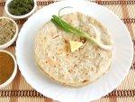 Jowar Roti Brinjal Curry Recipe