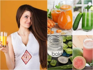 Top 10 Juices That Help Further Hair Growth