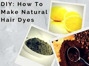 Natural Hair Dyes Colour Grey Hair At Home