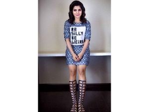 Samantha Prabhu S Meraki Dress Is Great Way Blending Style W