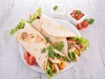 Quick Tasty Chicken Wrap Recipe