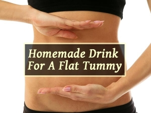 Powerful Homemade Drink Get Flat Tummy