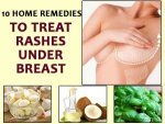Home Remedies Treat Rashes Under Breast