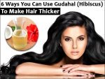 Ways You Can Use Gudahal Hibiscus Make Hair Thicker