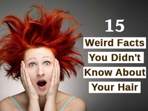 Your Hair Knows When You Fall Asleep 15 Weird Hair Facts