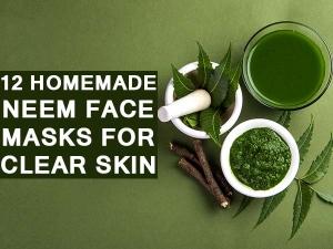 Homemade Neem Face Masks Clear Skin