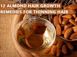 Almond Hair Growth Remedies Thinning Hair