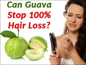 Can Guava Stop 100 Hair Loss