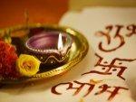 Diwali With Diyas Candles