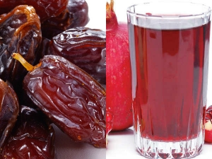 Amazing Health Benefits Pomegranate Juice Dates