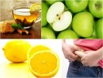 Cinnamon Water With Apple Lemon Weight Loss