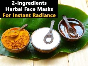 Ingredient Herbal Face Masks Instant Radiance