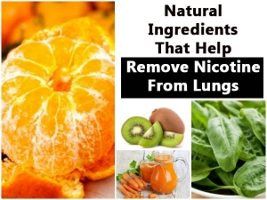 Good News Smokers These Natural Ingredients Help Remove Nic