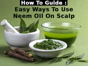 How Guide Easy Ways Use Neem Oil On Scalp