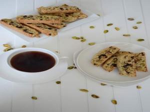 Pistachios Cranberry Biscotti