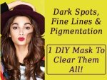 Dark Spots Fine Lines Pigmentation 1 Diy Mask Clear The