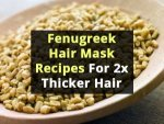Fenugreek Hair Mask Recipes 2x Thicker Hair