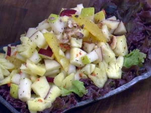 Awesome Fruit Salad Honey Chilli Recipe