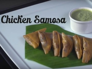 Delicious Chicken Samosa Snack Recipe