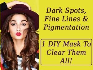 Dark Spots Fine Lines Pigmentation 1 Diy Mask Clear The