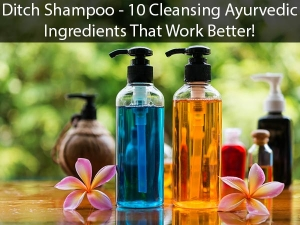 Ditch Shampoo Here Are 10 Cleansing Ayurvedic Ingredients