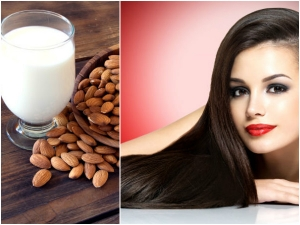 Benefits Almond Milk Your Hair