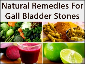 These Natural Remedies Help Remove Stones From Gall Bladder