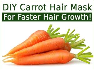 Diy Carrot Hair Mask Faster Hair Growth