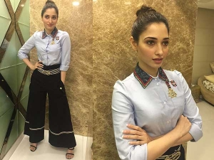 Tamannah Bhatia Glows A Tommy Hilfiger Outfit