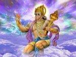 Applying Cheese On Hanuman Tail Accomplish Hearts Desire