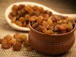 Raisins Can Help Lower Blood Pressure