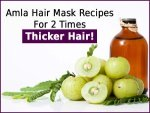 Amla Hair Mask Recipes Thicker Hair