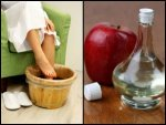 Soak Your Feet Apple Cider Vinegar It Helps Cure These Dise