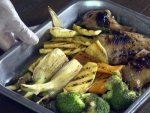 Honey Roasted Vegetable Chicken
