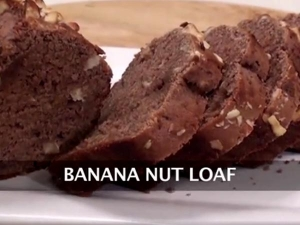Banana Nut Loaf Recipe