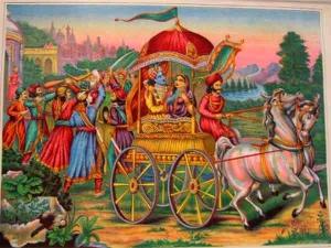 Lord Krishna Kidnapped Princess Rukmini On The Day Her Marri