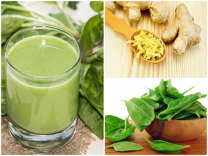 What Happens When You Drink Spinach Juice With Ginger
