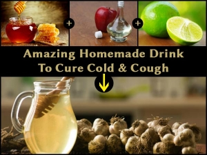 This Amazing Homemade Drink Helps Cure Cold Cough Seconds