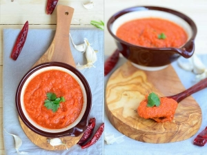 Yammy Tomato Garlic Chutney Recipe