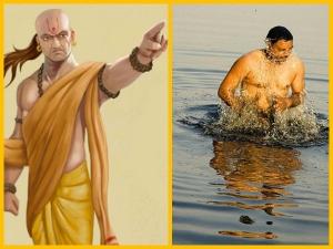 Chanakya Niti Always Take Bath After Doing These 4 Things