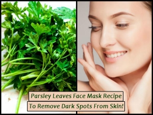 Parsley Leaves Face Mask Recipe Remove Dark Spots From Skin