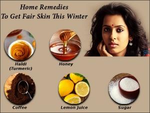 Kitchen Ingredients Get Fair Skin This Winter